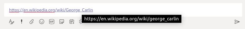 MS Teams is lowercasing URLs